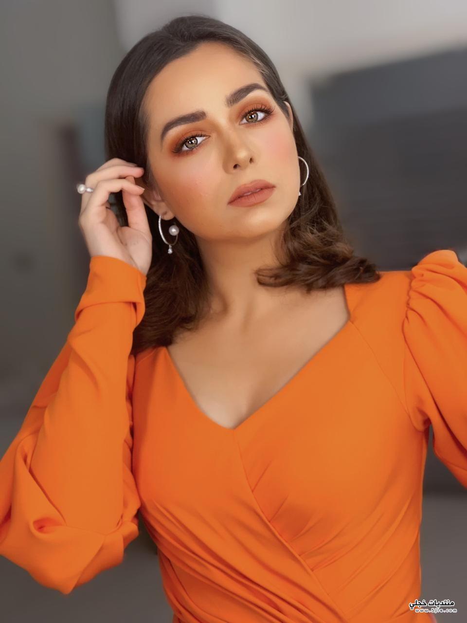 مكياج برتقالي 2020