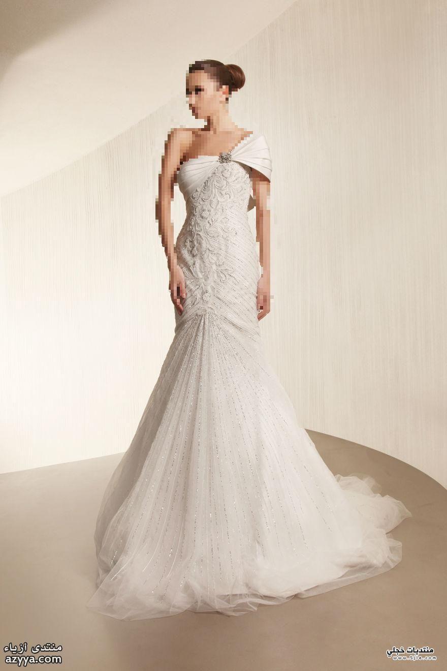 احدث فساتين للعروس 2013 فساتين