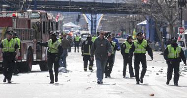 انفجار عبوتين ناسفتين ماراثون بوسطن