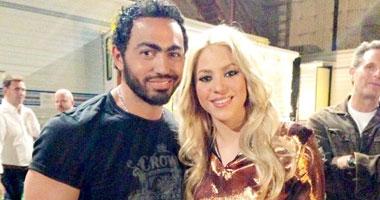 شاكيرا وتامر حسني Shakira Tamer