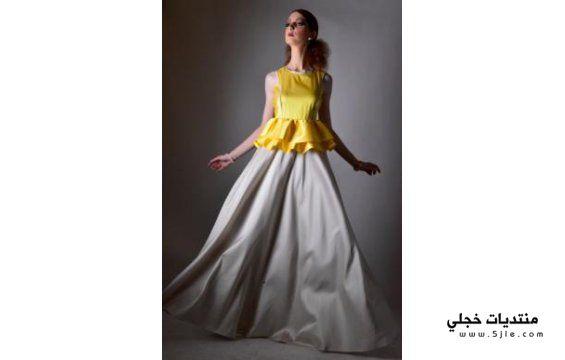تصاميم نورة الشيخ ازياء المصممة