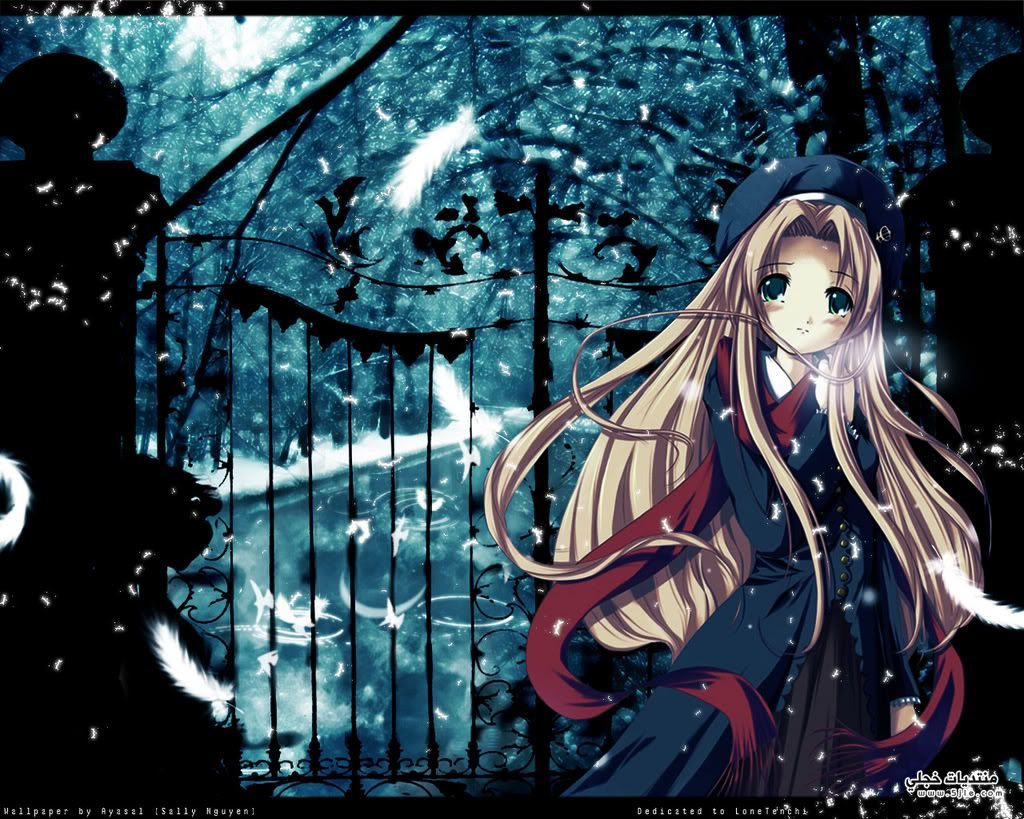 اجمل خلفيات انمي 2014 Anime
