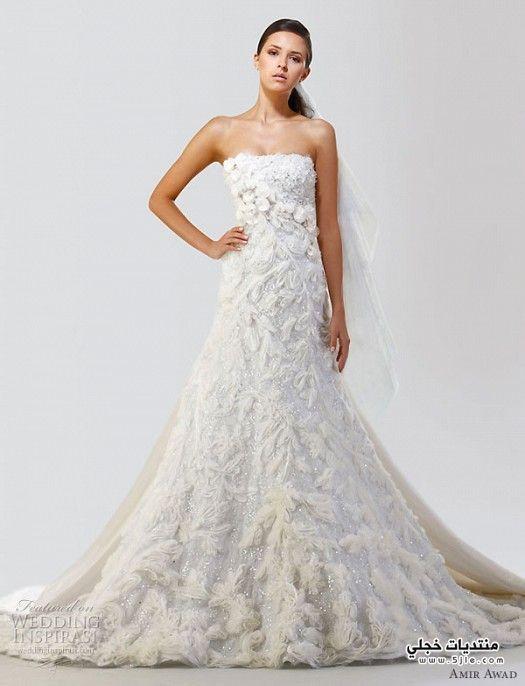 فساتين زفاف حديثة للعروس 2013