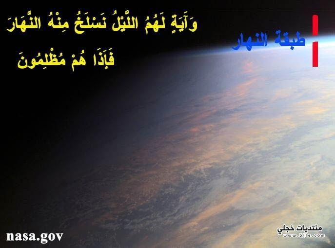 اعجاز الله الكون سبحانه
