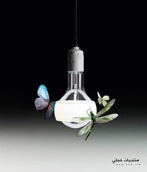 ديكورات لاضاءات العصرية 2014 اضائات