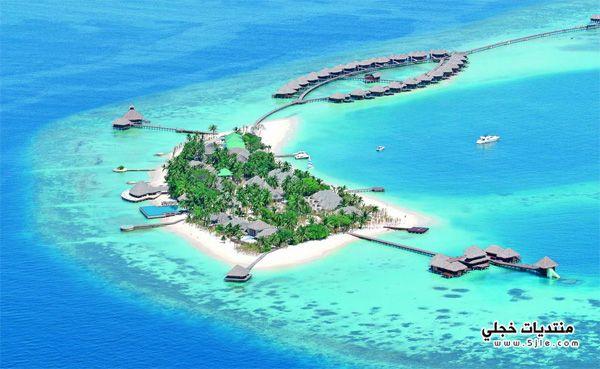 منتجع الماء المالديف 2014 منتجع