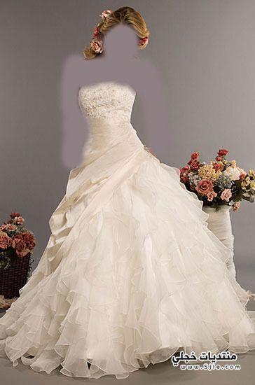 ارقى فساتين زفاف للعروس 2013