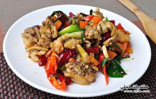 طريقة صدور الدجاج بالطريقة الصينية