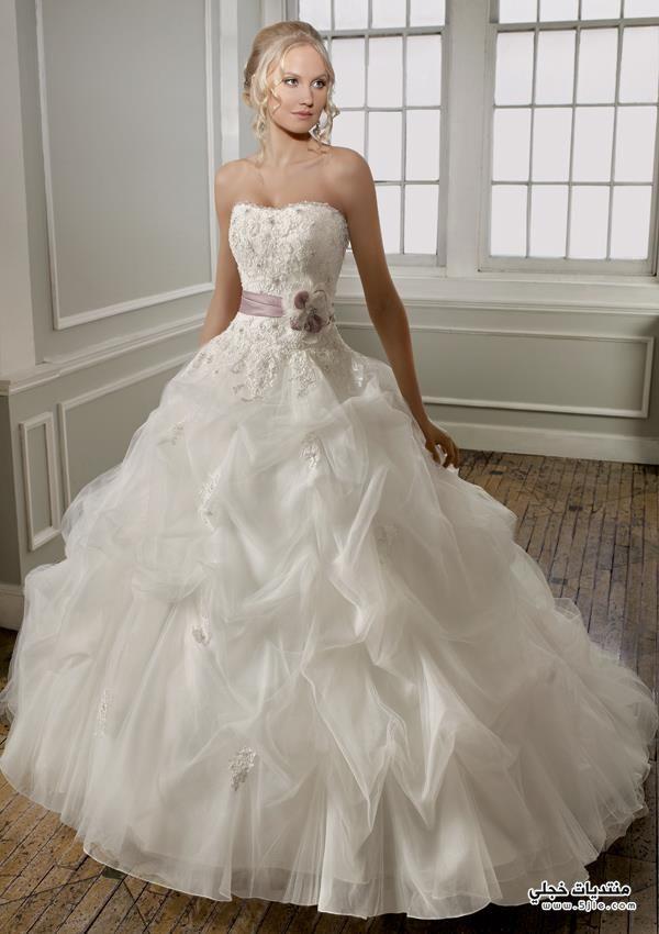 فساتين زفاف عالمية 2013 اجمل