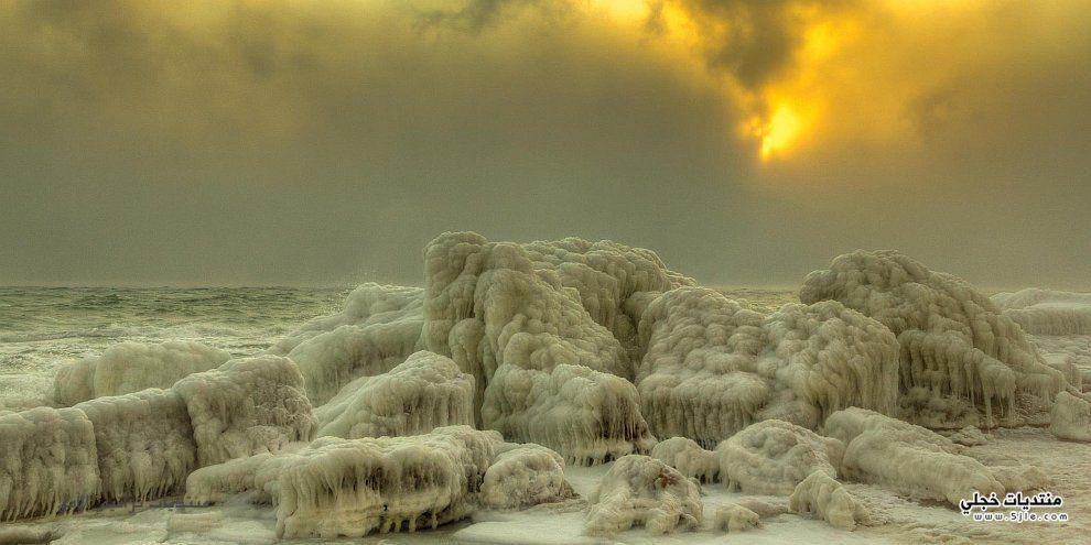 اجمل البحر الاسود المتجمد 2013