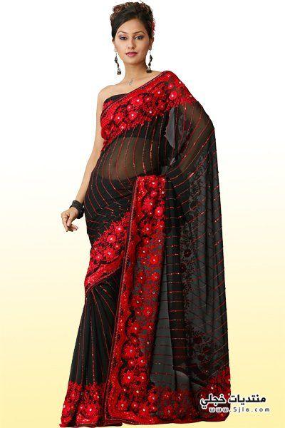 اجمل فساتين هندى رقيقة 2013
