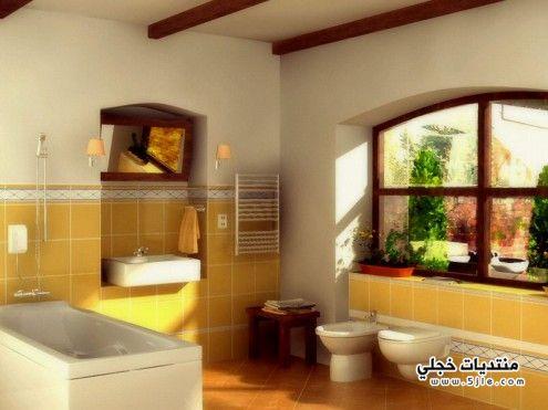 جديد ديكورات حمامات 2013 حمامات