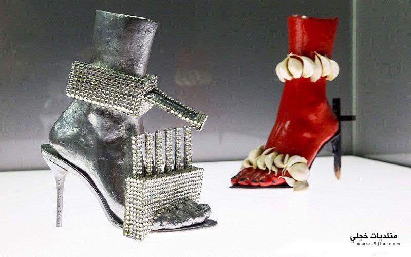 احذية غريبة 2014 احذية مشاهير