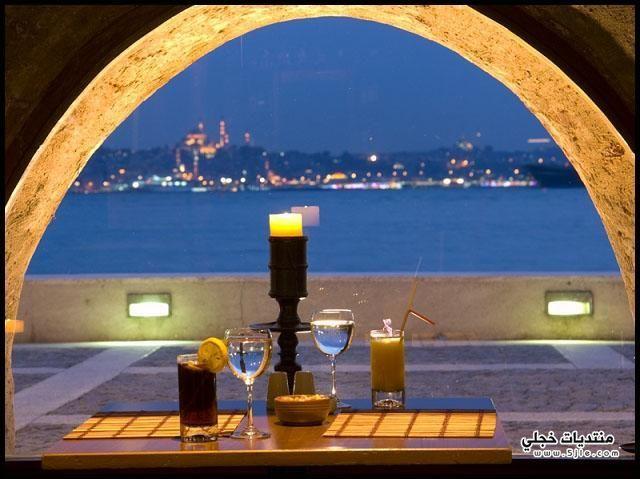 ارقى مطاعم تركيا البحر 2013