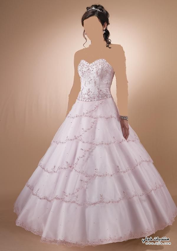 كولكشن فساتين زفاف 2013 احدث