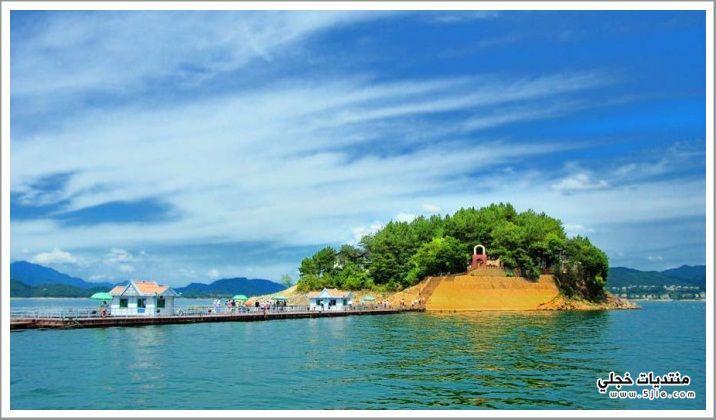 بحيرة تشيانداو 2013 مناظرروعه لبحيره