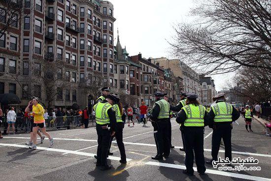 استنفار امنى المدن الامريكية انفجارات