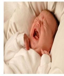 اسباب بكاء الطفل النوم 2013