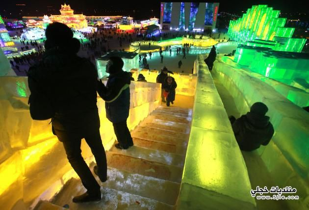 السياحه مدينة هاربين الثلجيه 2013