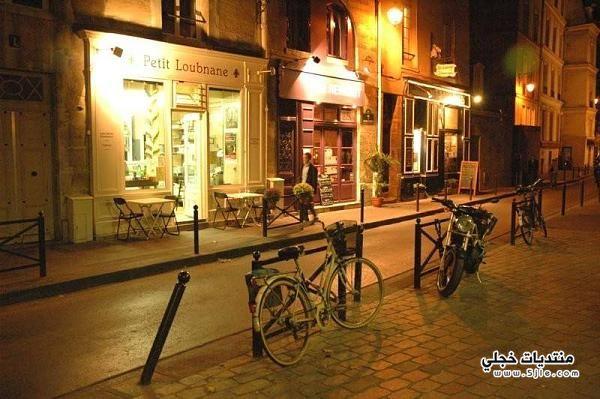 اجمل شوارع باريس ليلا 2014