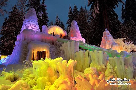 الثلج بسويسرا 2014 اجمل معالم