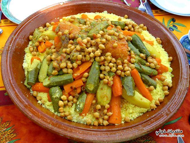طريقة تحضير الكسكس المغربي 2014