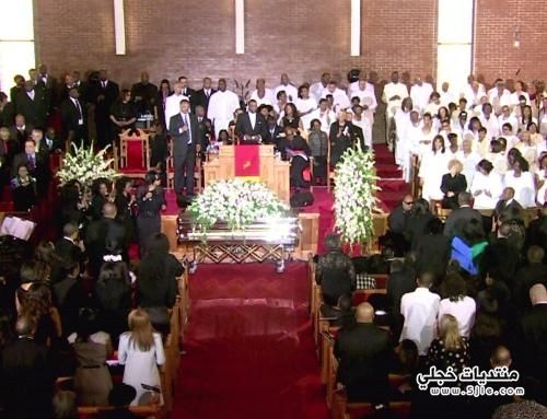 جنازة النجمة ويتنى هيوستن وفاة