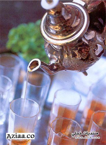 الشاي المغربي2013 خطوات الشاي المغربي