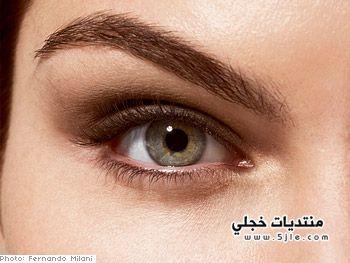 مكياج رقيق للعيون 2013 مكياج