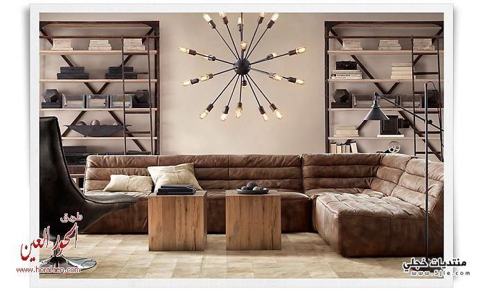 ديكورات لغرف المعيشة2014 نماذج اثاث