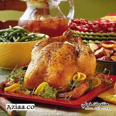وصفة الدجاج المحمر 2013 الدجاج