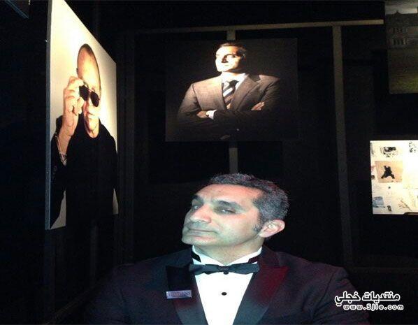 تكريم التايم 2013 باسم يوسف