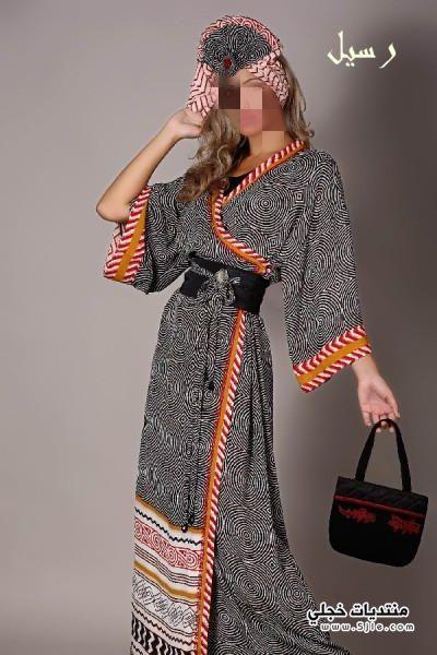 احلى ملابس خليجية مودرن 2013