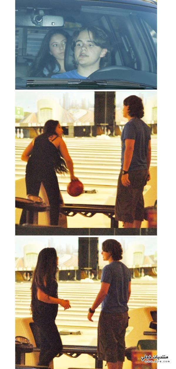 مايكل جاكسون برفقة فتاة كويتية