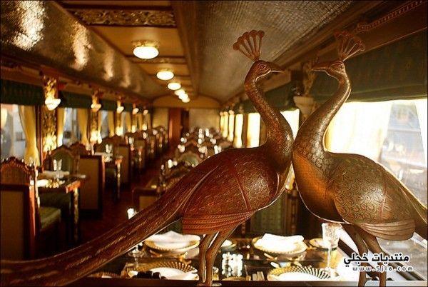 قطار المهراجا الفاخر الهند 2014