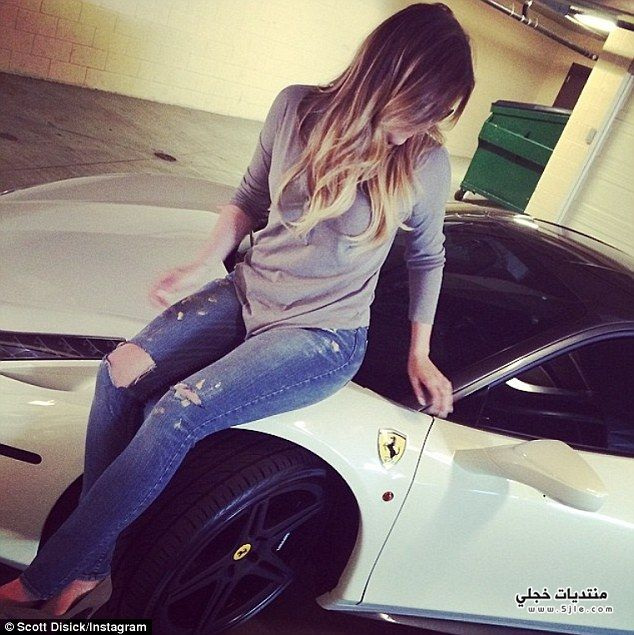 Khloe Kardashian Ferrari Khloe Kardashian