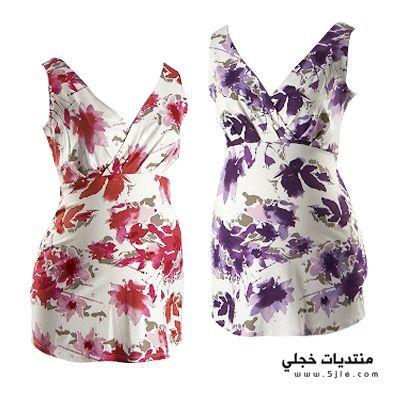 ملابس مريحة للحوامل 2015 ازياء