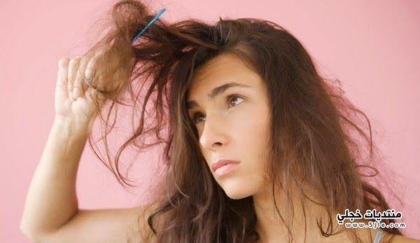الشعر الجاف مشاكل الشعر الجاف