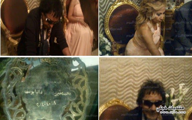 زفاف محمد منير 2014 زواج