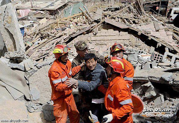 زلزال الصين 2014 China quake