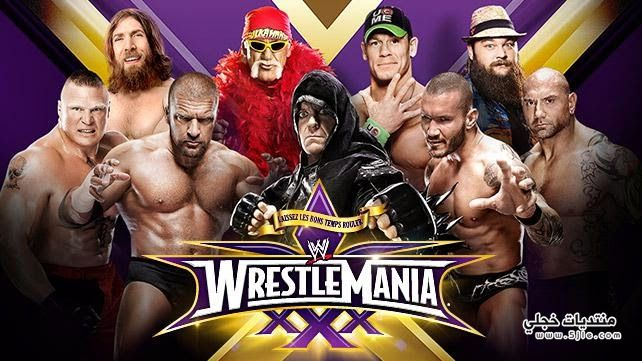 ����� ���������� ����� WrestleMania �����