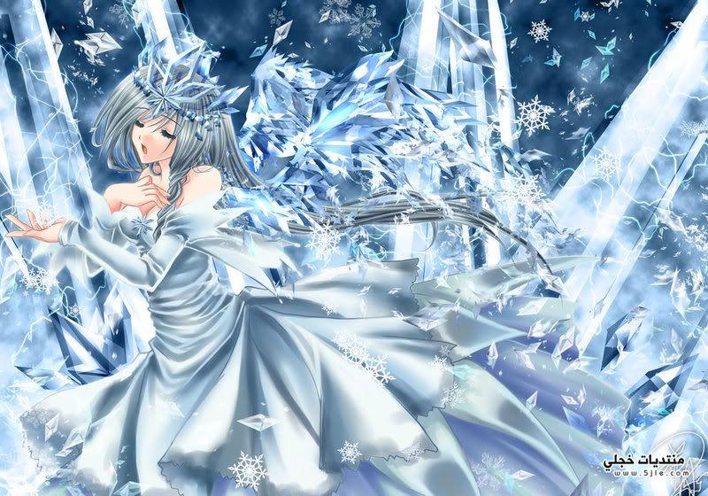انمي ملكة الثلج 2015