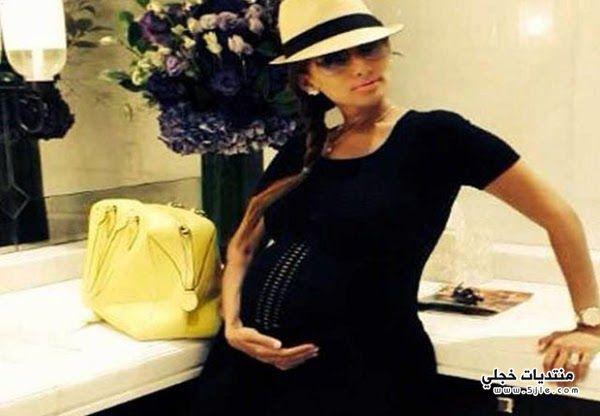 الفنانة المصرية زينة زينة حامل