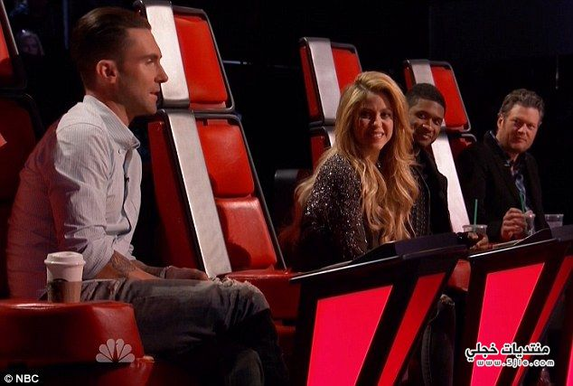 Voice Shakira 2014