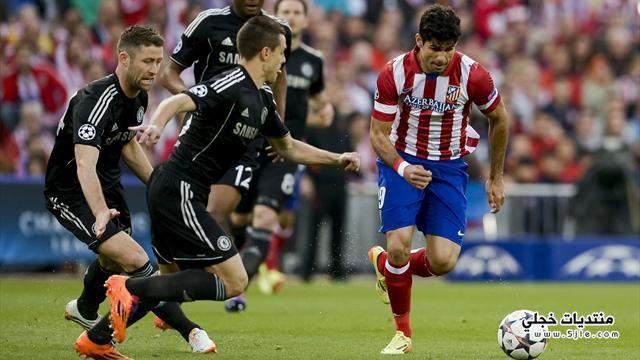 تعادل تشيلسي واتلتيكو مدريد نهائي
