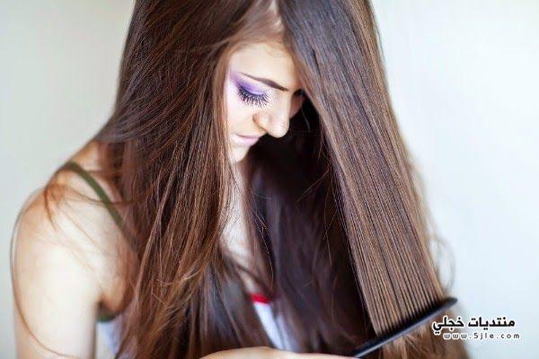 ترطيب ولمعان الشعر وصفة ترطيب