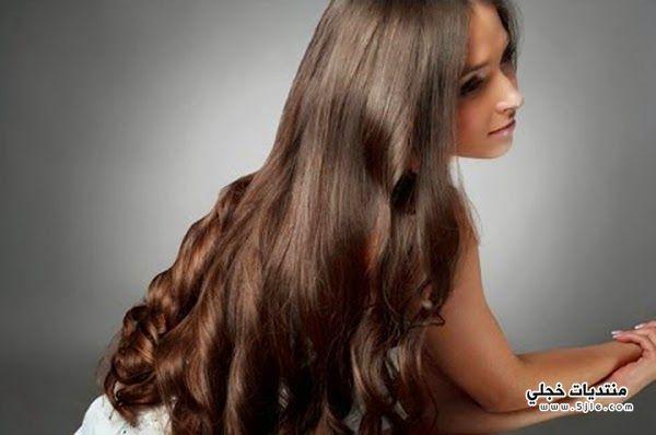 خلطة لتطويل الشعر ولمعانة طريقة