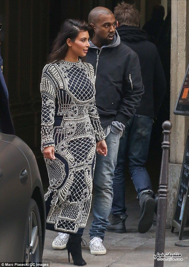 Kanye West Kardashian 2014