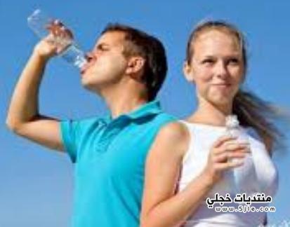 اهمية الماء للرجيم