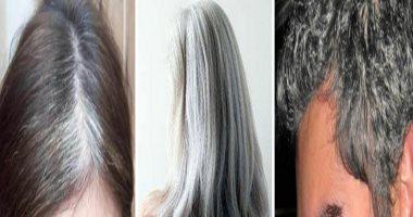 كيفية محاربة الشعر الابيض